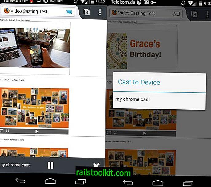 Android 용 Firefox는 Roku를 지원하는 Chromecast를 제공합니다.  작동 방식은 다음과 같습니다.