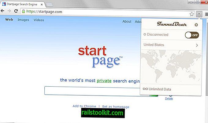 TunnelBear julkaisee VPN-laajennuksen Chromelle