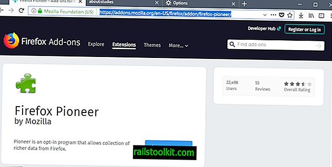 Qu'est-ce que Firefox Pioneer?