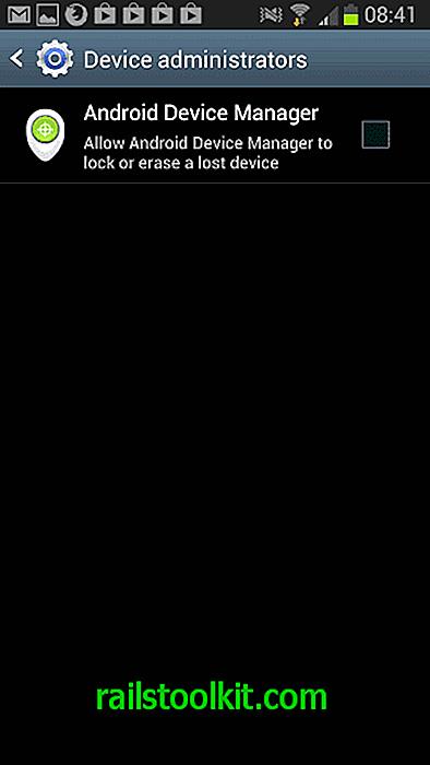 Come configurare il nuovo Gestione dispositivi Android sul telefono