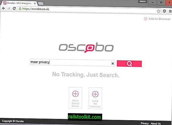 Oscobo, un nuevo motor de búsqueda centrado en la privacidad