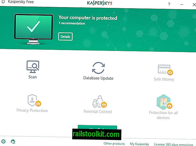Kaspersky Free Antivirus širom svijeta započinje s radom