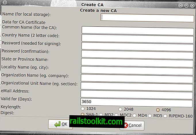 Opret din egen Certificate Authority med TinyCA