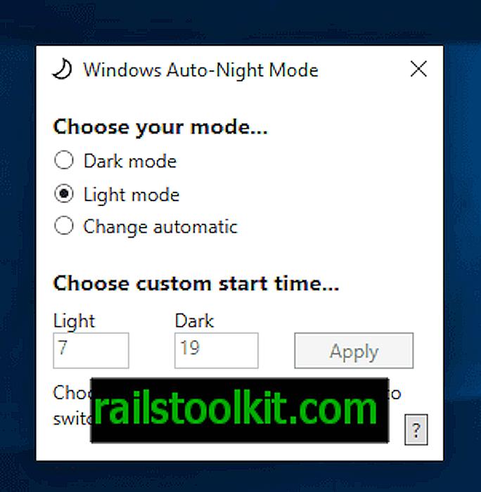 """""""Windows 10"""": automatiškai persijungia iš šviesos ir tamsos režimų"""