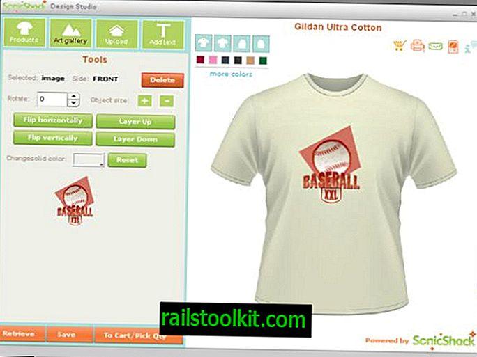 Creatore di magliette desktop