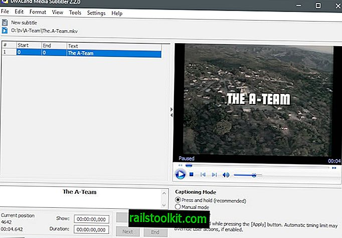Създайте или добавете субтитри към видео файлове с Media Subtitler