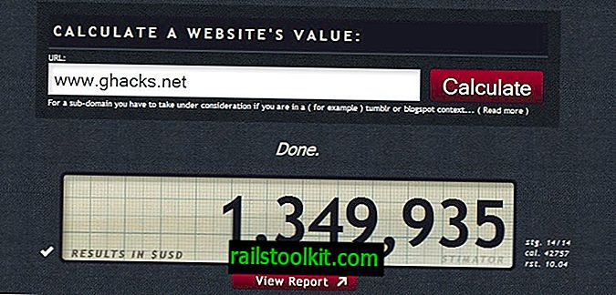 Website Value Calculator Stimulator