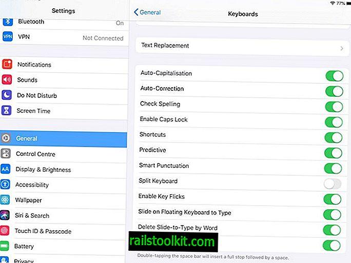 Bagaimana untuk membolehkan papan kekunci sapu di iPadOS