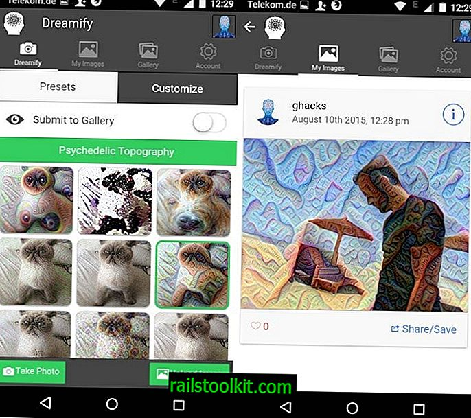 Dreamify: transformer des photos en utilisant l'algorithme Deep Dream de Google