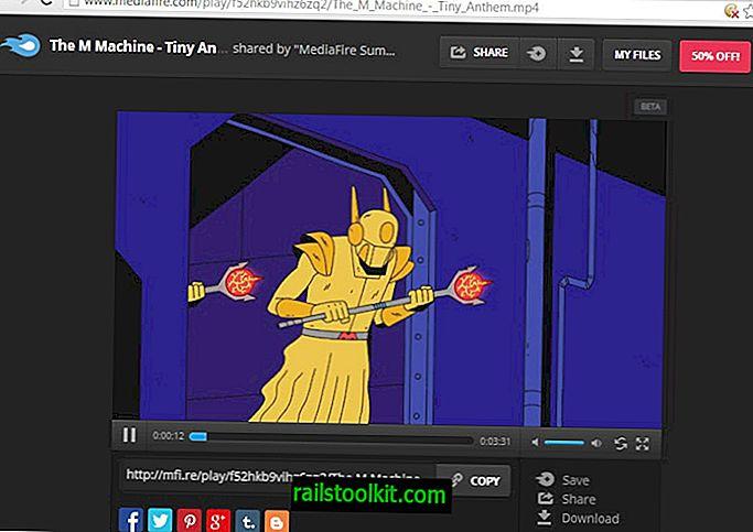 MediaFire-oppdateringen introduserer musikk og videostreaming