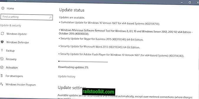 กระดานข่าวความปลอดภัยของ Microsoft ตุลาคม 2559