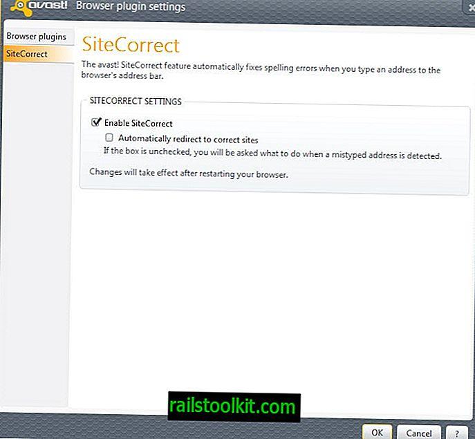 Kemas kini Avast membawa ciri Pembaharuan Kecemasan dan ciri-ciri SiteCorrect