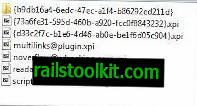 Sådan afinstalleres Firefox-tilføjelser uden mulighed for fjernelse