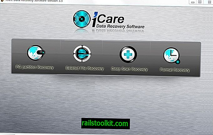 استعراض استعادة بيانات iCare