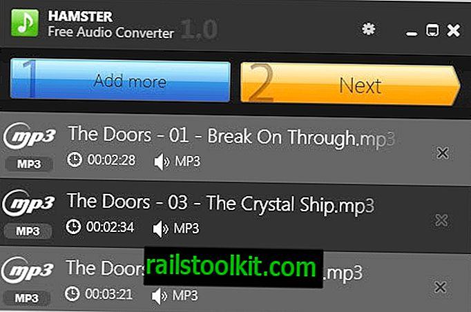 """""""Hamster Audio Converter"""" yra nemokamas, lengvai naudojamas muzikos formatų keitiklis"""