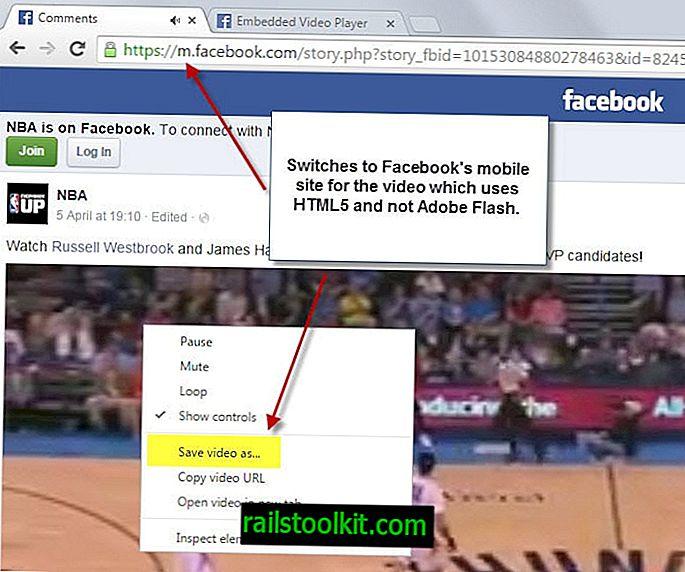 Najlažji način za shranjevanje videoposnetkov na Facebooku