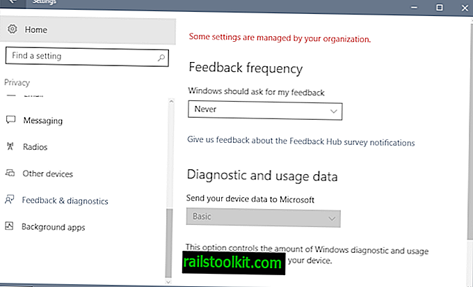 Master-Liste der Windows 10-Heimtelefonverbindungen