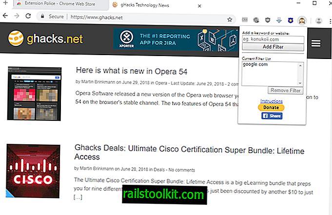 Tải trang web Chrome tự động ở Chế độ ẩn danh
