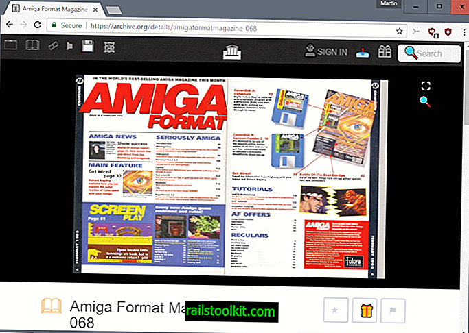 Baca majalah komputer dan permainan klasik di Arkib Internet