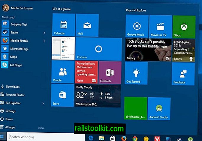 Come aprire più app del menu Start di Windows in una volta sola