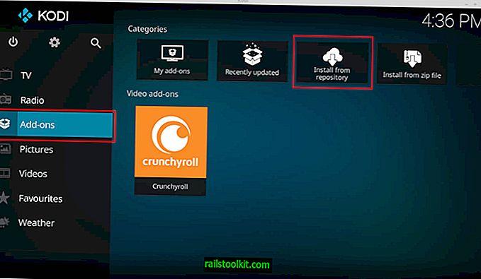 Memasang Kodi menggunakan sistem berasaskan Ubuntu