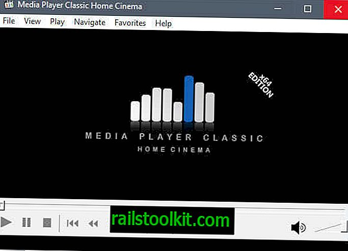Este ultima versiune a MPC-HC (Media Player Classic Home Cinema)?