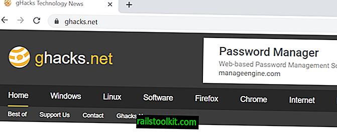 Chrome 76: pas plus de https ou www dans la barre d'adresse