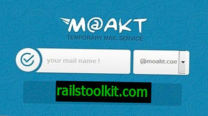 Cree correos electrónicos y números de teléfono temporales con Moakt