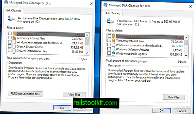 Comet je klon Windows Disk Cleanup klon