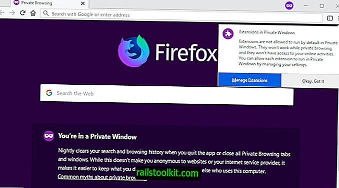 Firefox va înlătura în curând extensiile în modul privat în mod implicit