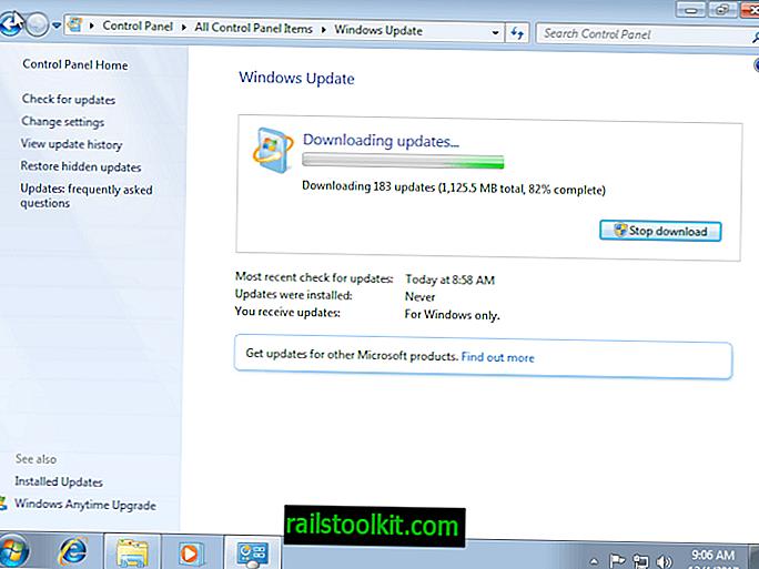 Získává se chyba aktualizace Windows 7 80248015?  Nejsi sám