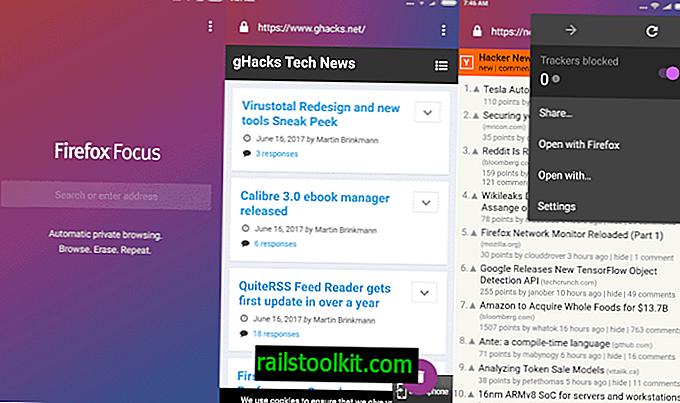 Firefox Focus hat momentan keine hohe Priorität