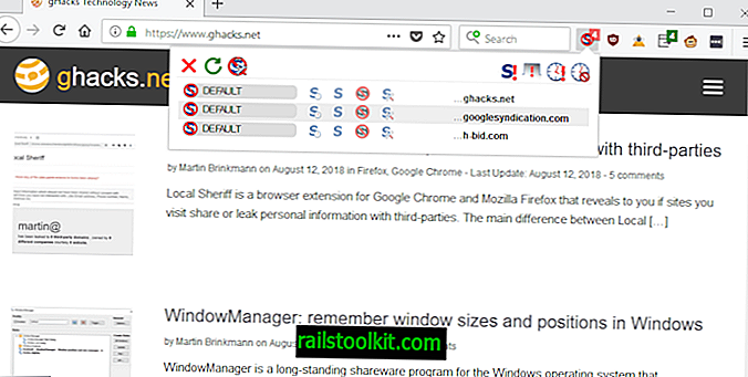 NoScript-Handbuch für Firefox 57+
