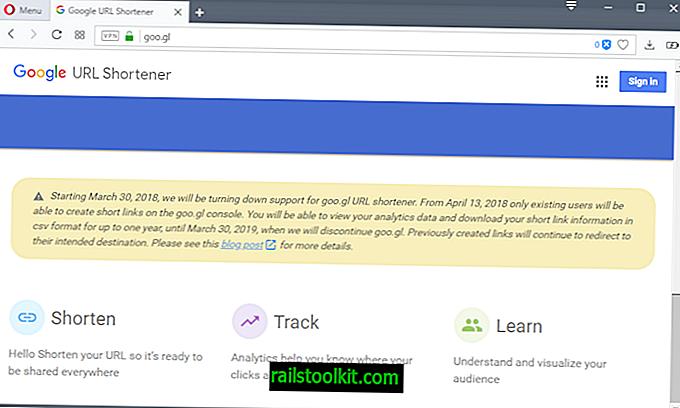 Google fährt Google URL Shortener goo.gl herunter