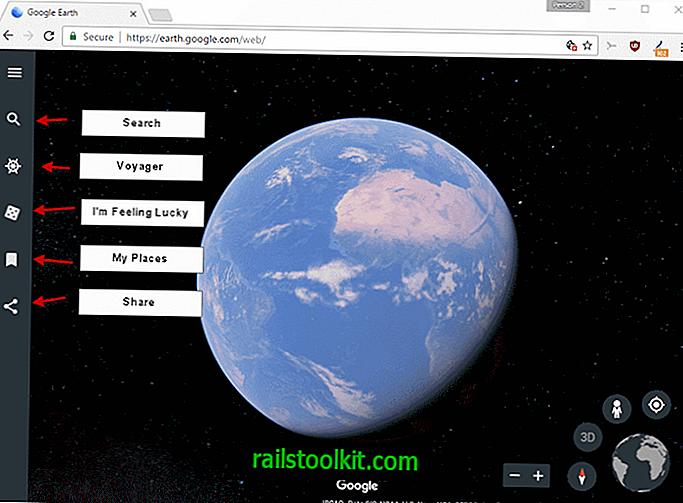 Google rende esclusivo il nuovo Google Earth Chrome