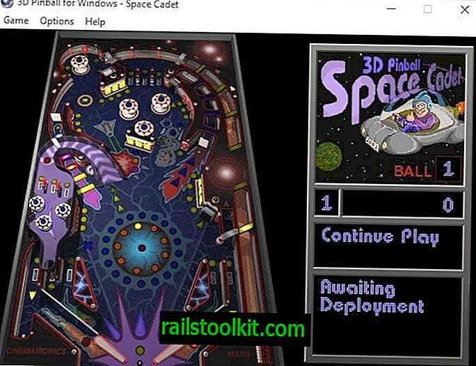 Jouer 3D Pinball Space Cadet sur un PC Windows moderne