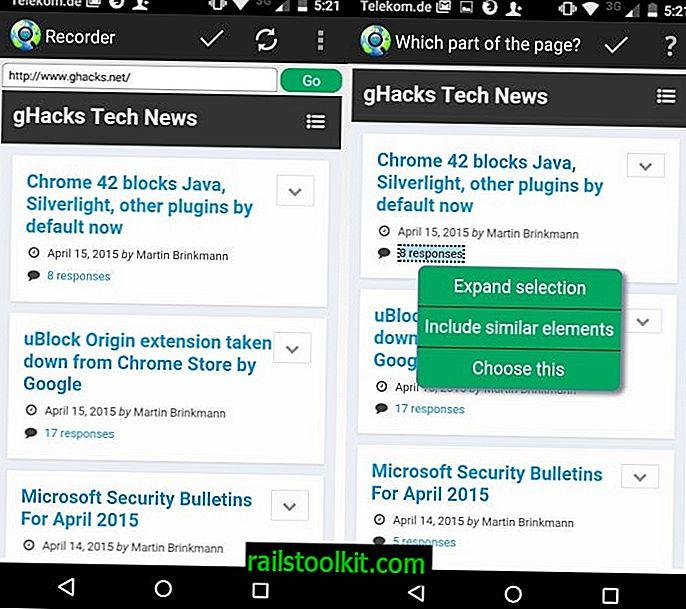 Το Web Alert είναι μια ισχυρή εφαρμογή παρακολούθησης ιστότοπων για το Android