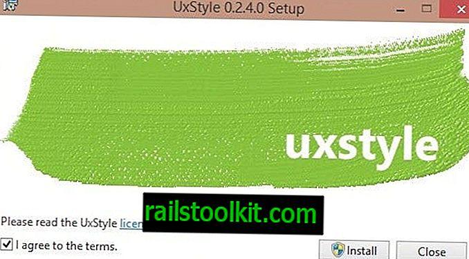 قم بتثبيت السمات المخصصة في نظام التشغيل Windows 10 باستخدام UxStyle