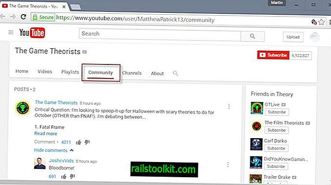 Lanzamientos de funciones de la comunidad de YouTube