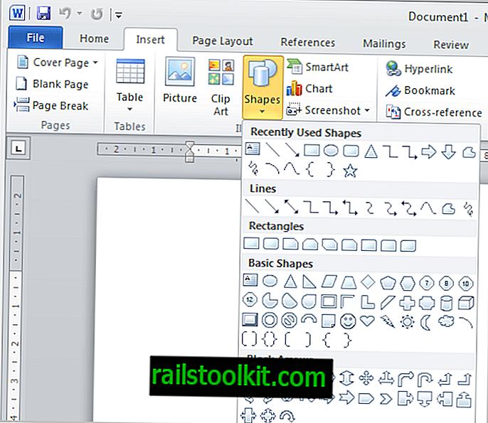 Cách tạo biểu đồ luồng trong Microsoft Word