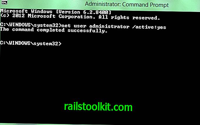 Windows 8 : 숨겨진 관리자 계정 활성화