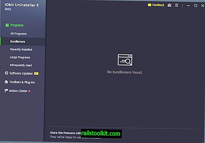 IOBit Uninstaller 8 viene fornito con il monitoraggio Bundleware