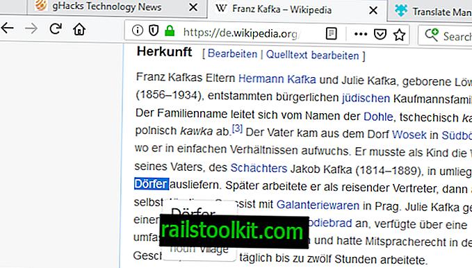 Translate Manを使用して、Firefoxで瞬時に翻訳