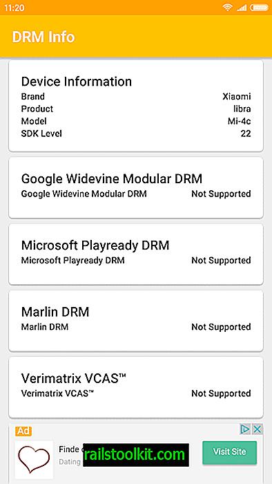 """Patikrinkite """"Android"""" įrenginio DRM galimybes"""