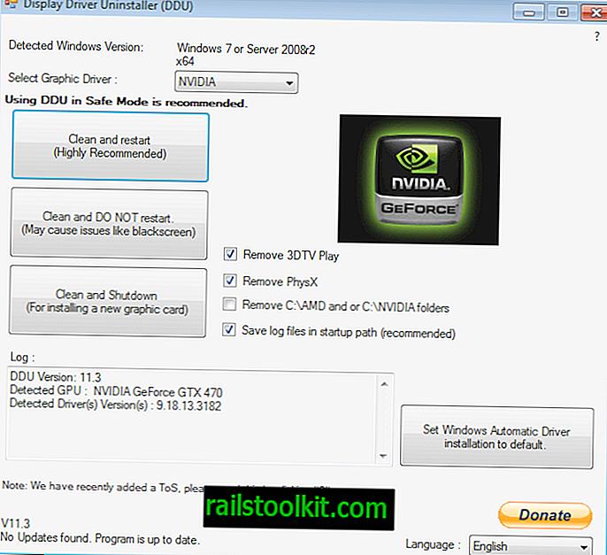 Comment désinstaller complètement les pilotes graphiques Nvidia ou AMD