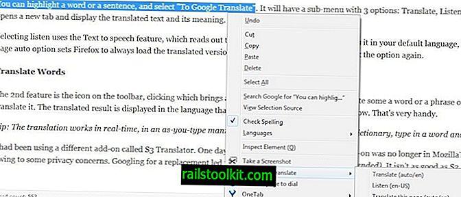 """Į """"Google Translate"""" yra naudingas """"Firefox"""" vertėjo priedas"""