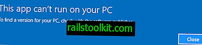 """Popravite """"Aplikacija se ne može pokrenuti na računalu"""" u sustavu Windows"""