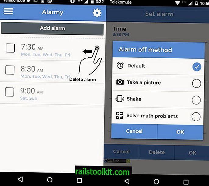 Alarmy je pravděpodobně nejvíce nepříjemná aplikace budíku venku