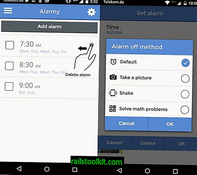 Alarmy는 아마도 가장 성가신 알람 시계 앱일 것입니다.