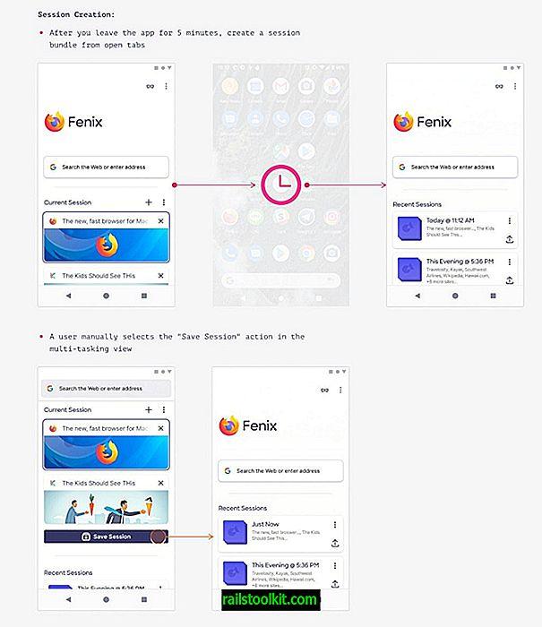O próximo navegador móvel da Mozilla, Firefox Fenix, muda a navegação com guias fundamentalmente